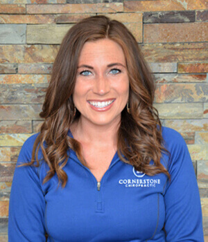Stacie Peterson of Cornerstone Chiropractic