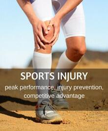 man having an injury while running